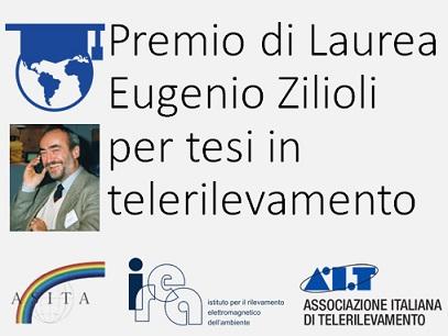 Premio Nazionale di Laurea Eugenio Zilioli – 16a Edizione, 2020