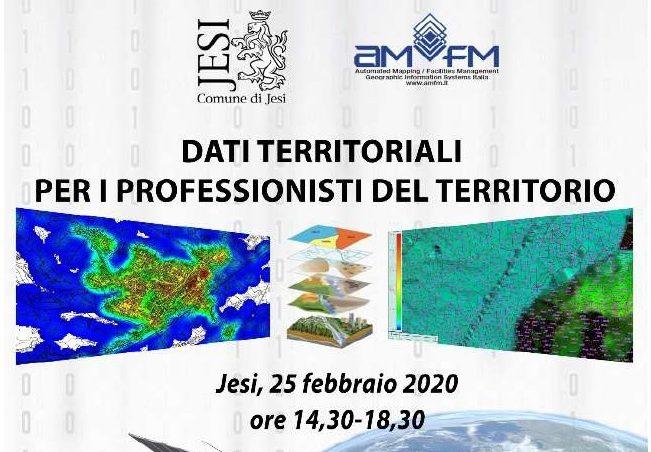 Evento annullato – Dati territoriali per i professionisti del territorio