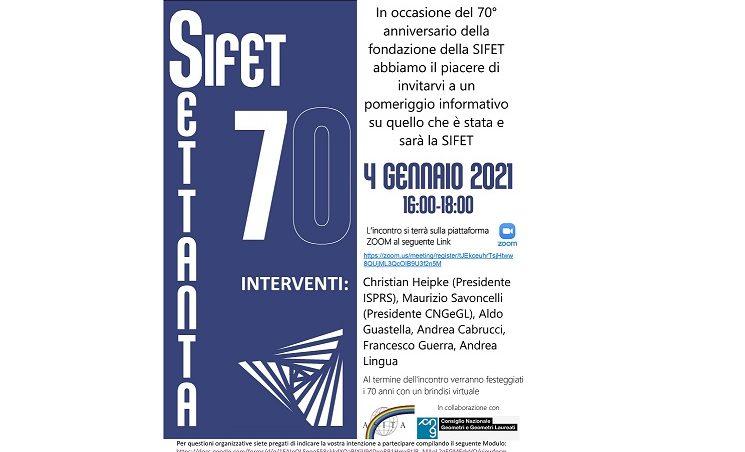 Compleanno SIFET – 70simo anniversario